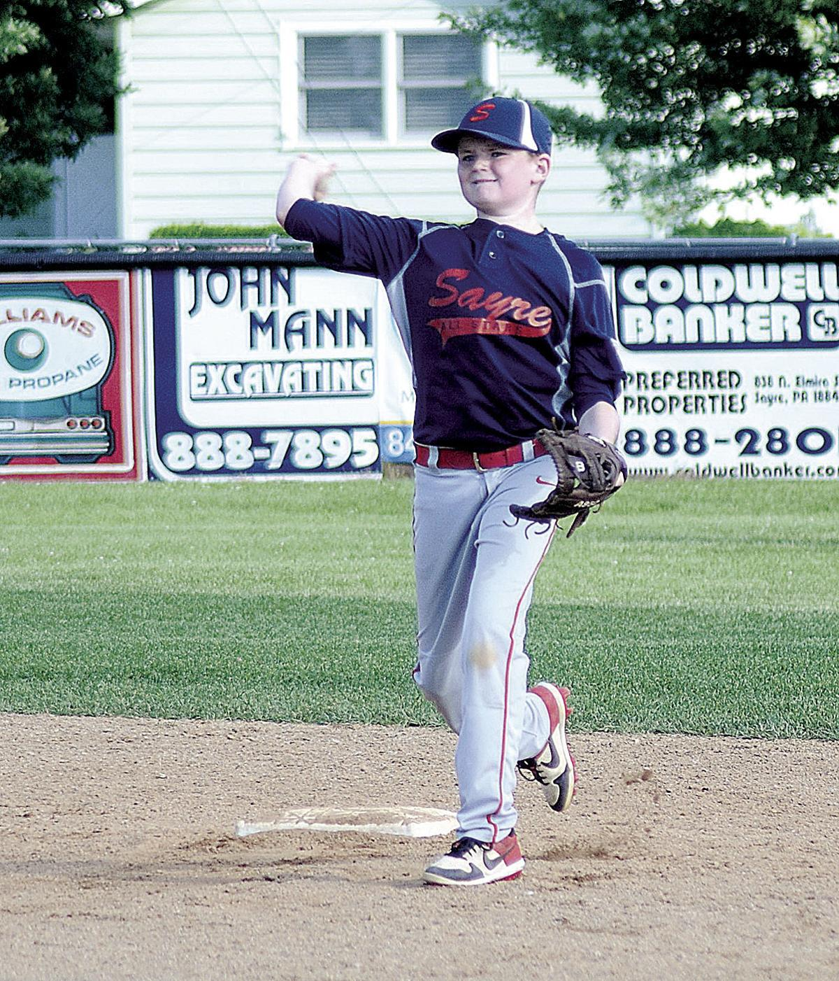 Athens cruises past Sayre in District 15 LL opener