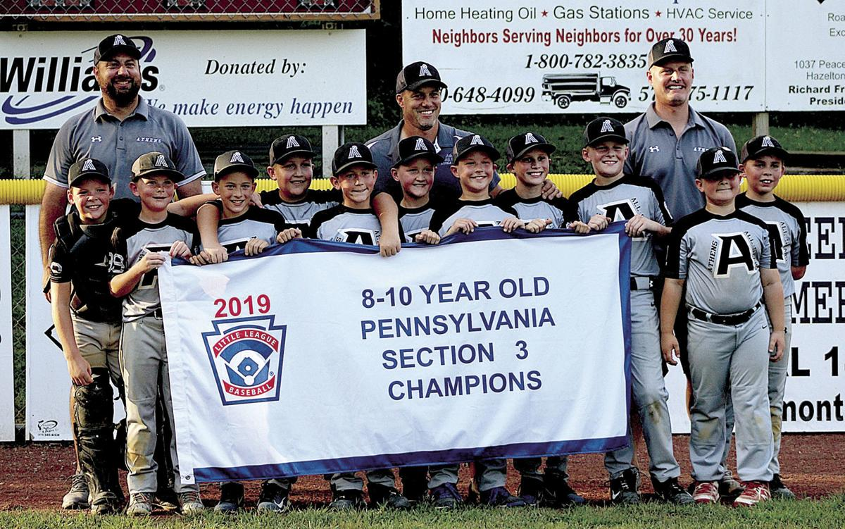 Athens Minors win Section title