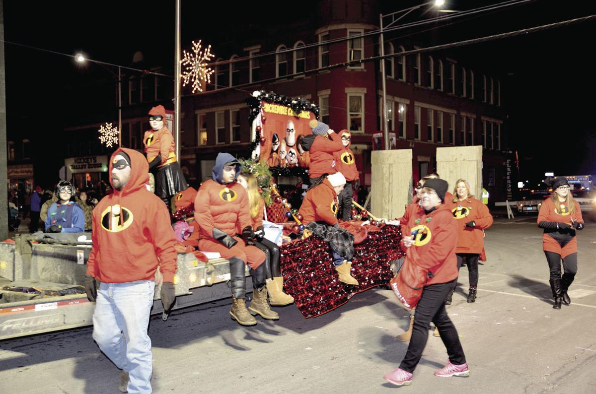 Christmas Homecoming Float.Sayre Christmas Parade Award Winners Announced News