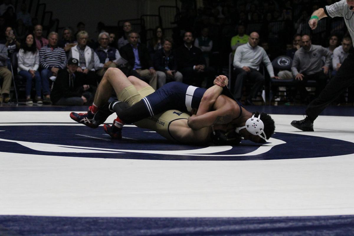 Wyalusing grad helps Penn State wrestling top Navy