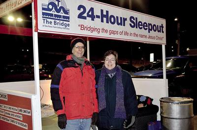 Bridge Sleepout