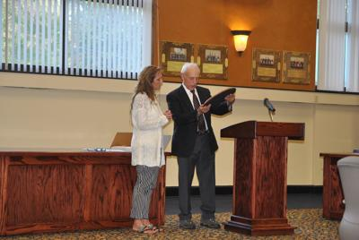 Tioga County Legislative Clerk retires