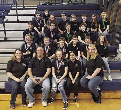 Athens Schools Science Olympiad Team Takes Seventh At