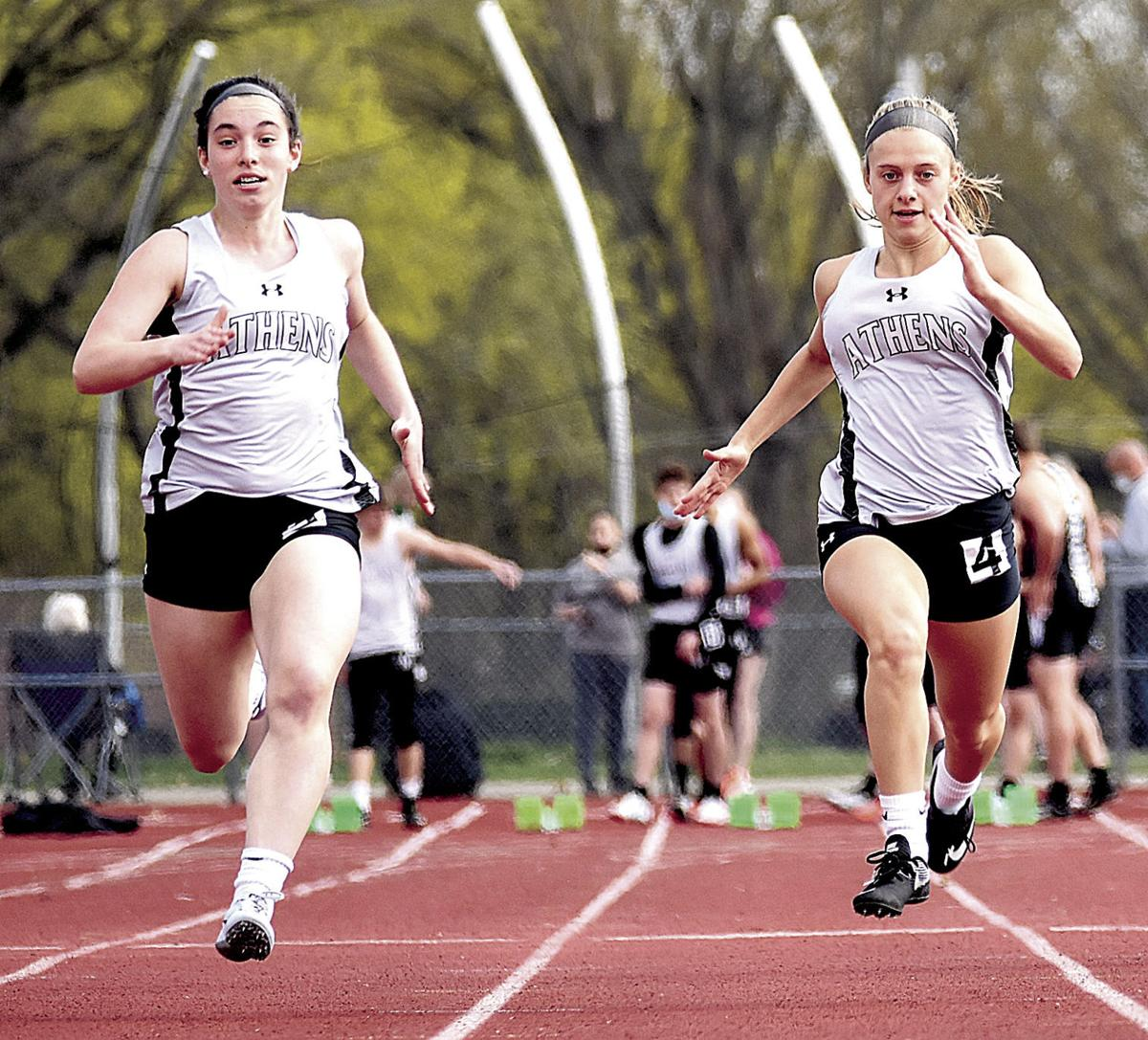 Athens' Roe named the Times top female track and field athlete