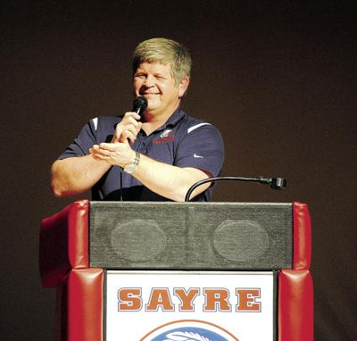 Dana Twigg leaves an indelible mark on the Sayre Recreation program