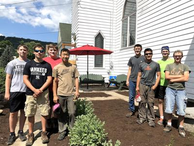 Church garden project helps local Boy Scout earn Eagle Scout award