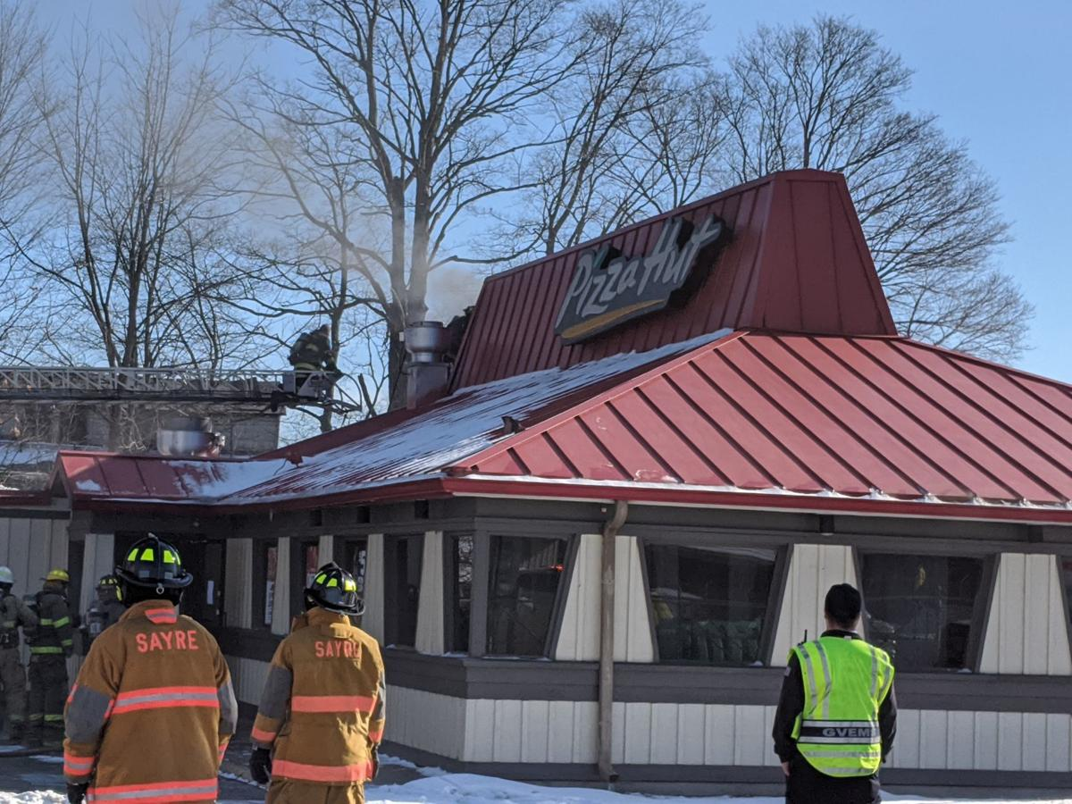 Pizza Hut damaged in Wednesday morning fire