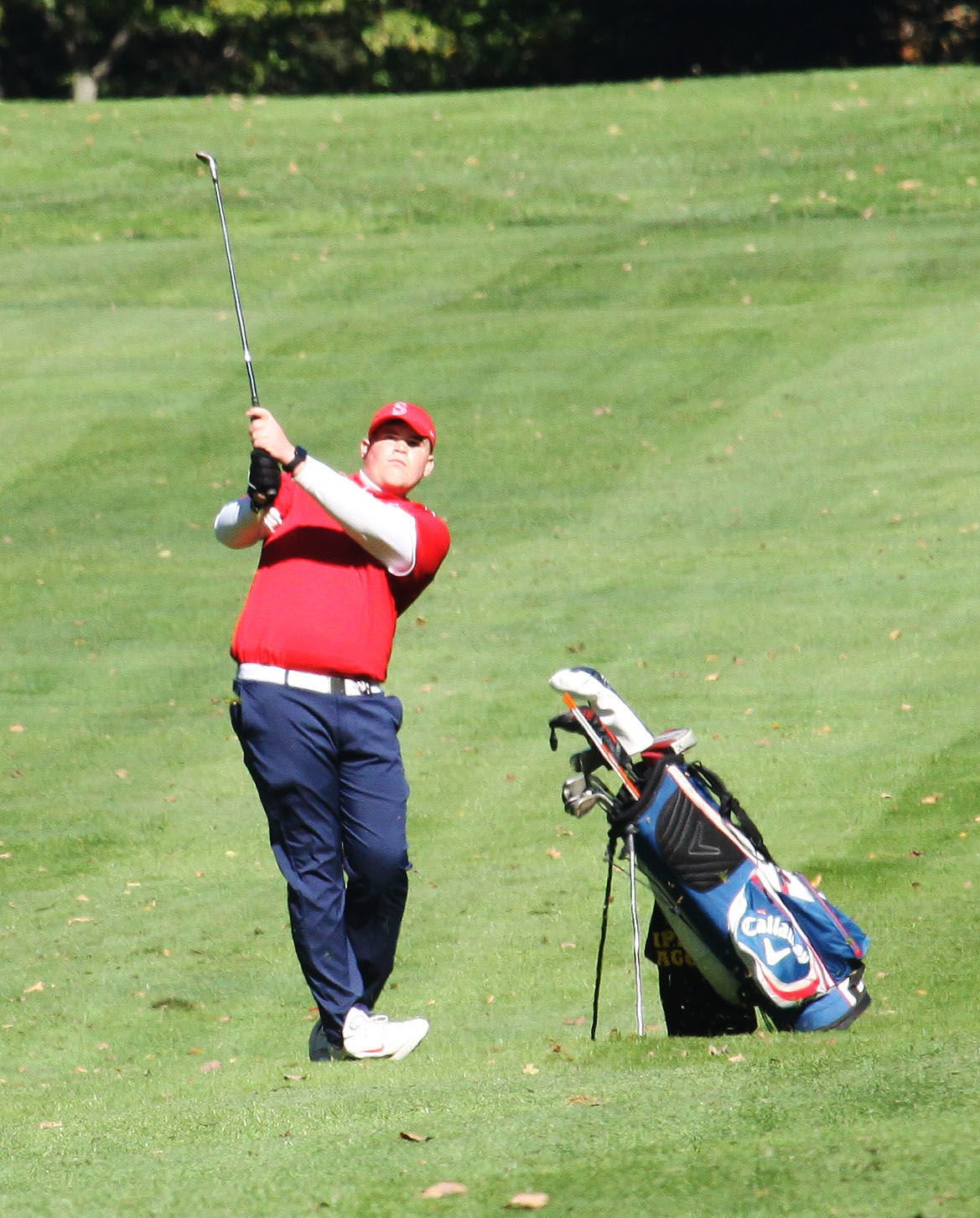 Sayre duo plays well at Districts