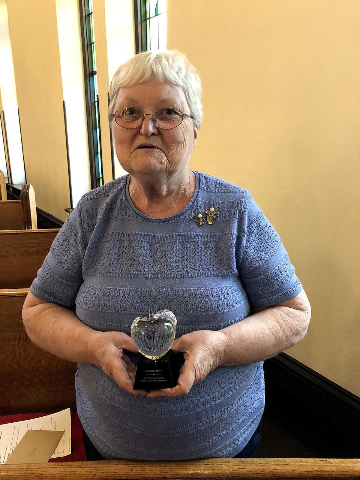 Longtime AASD employee honored