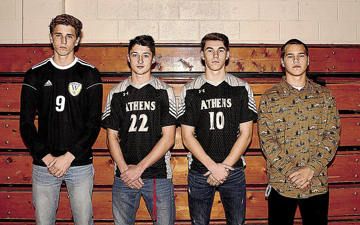 Athens' Lane, Arnold NTL boys soccer co-Players of the Year