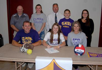 Athens grad Martin to play two sports at Elmira College