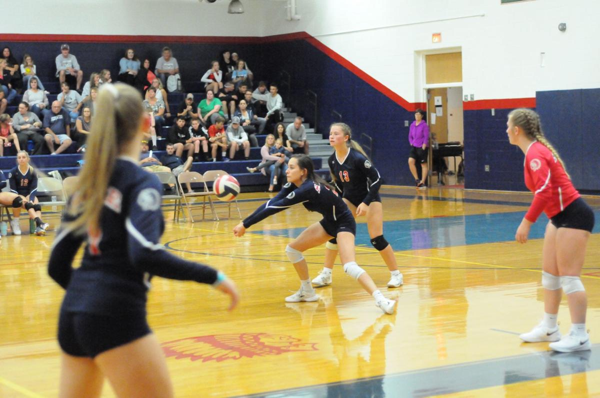 Athens spikers sweep past Sayre