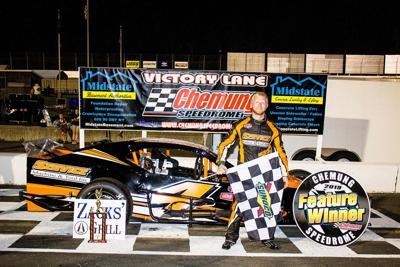 Youth being served in Chemung Modifieds