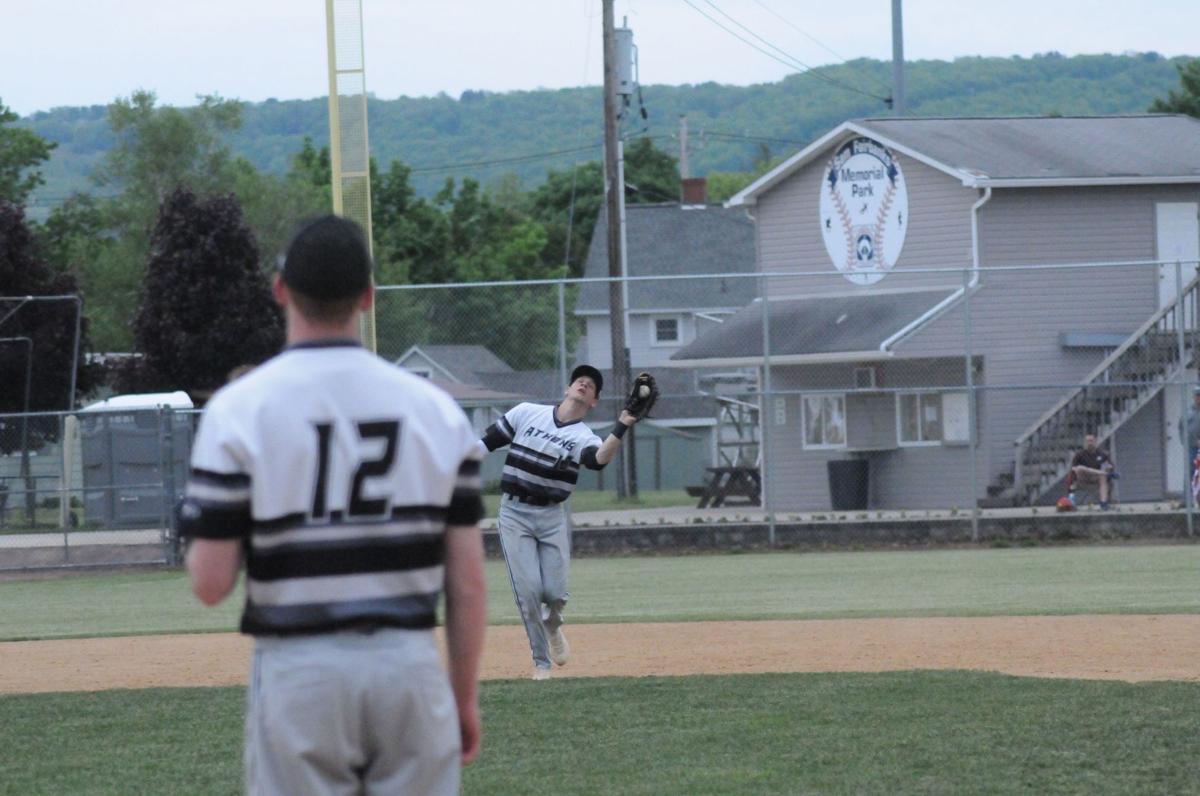 Athens baseball falls in quarters