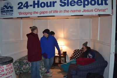 Sleepout looks to raise $15K to help those in need
