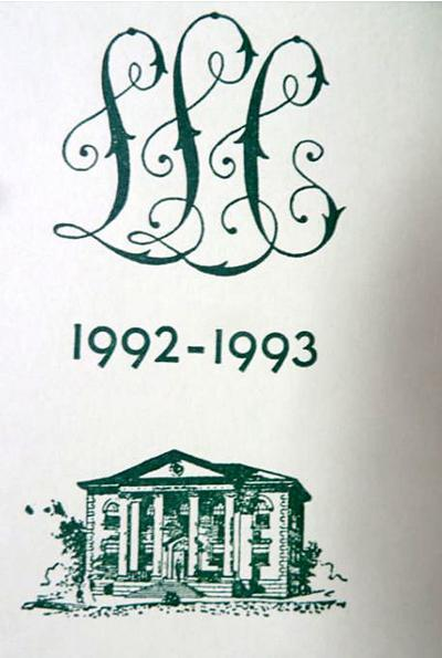 From our archives at Tioga Point Museum: The Ladies Library Club