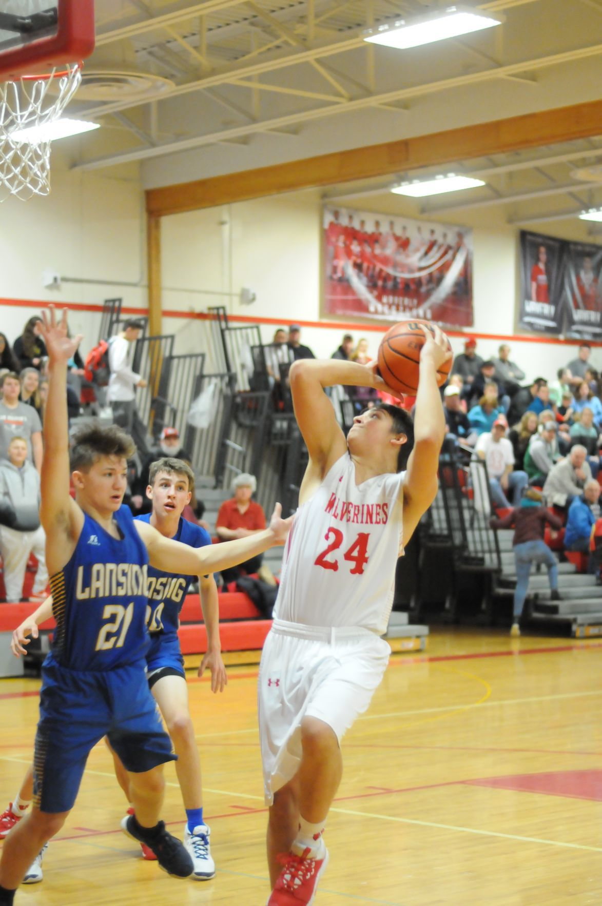 Wolverines roll over Bobcats