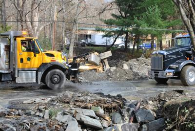 Area cleans up after flooding