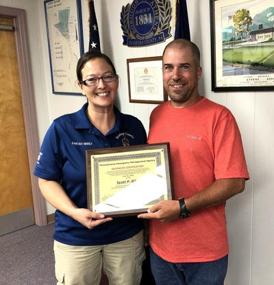 Riley earns advanced Emergency Management certificate