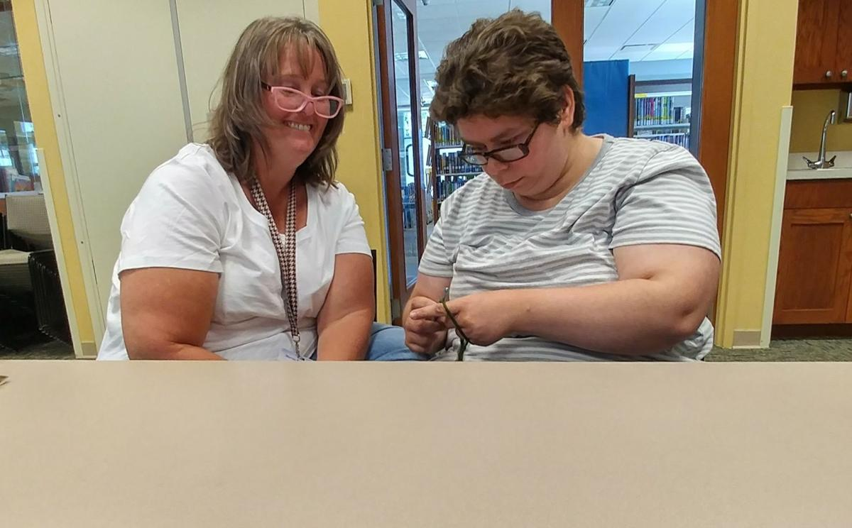 knitters at columbia library