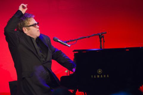Elton John at AIDS event: Pope Francis is my hero (copy)