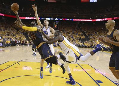 NBA Finals: Golden State Warriors are defending LeBron James like never before