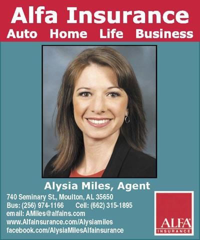 Alfa Insurance Welcomes Their Newest Agent Alysia Miles Business Moultonadvertiser Com