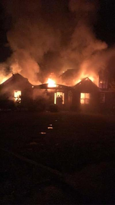 Monday morning fire claims Caddo home