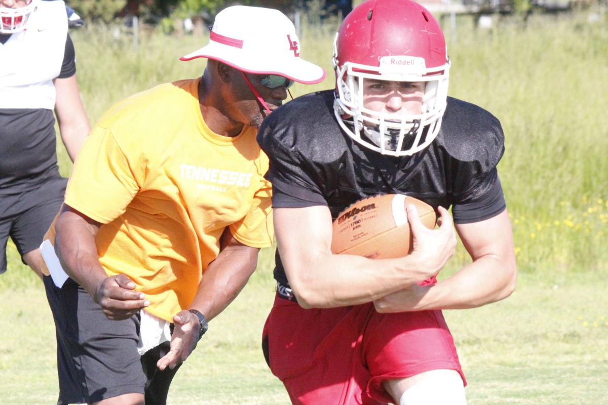 Two-headed monster:Johnson and Dutton leading resurgent Devils' rushing attack