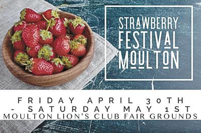 Moulton's Strawberry Fest returns this weekend