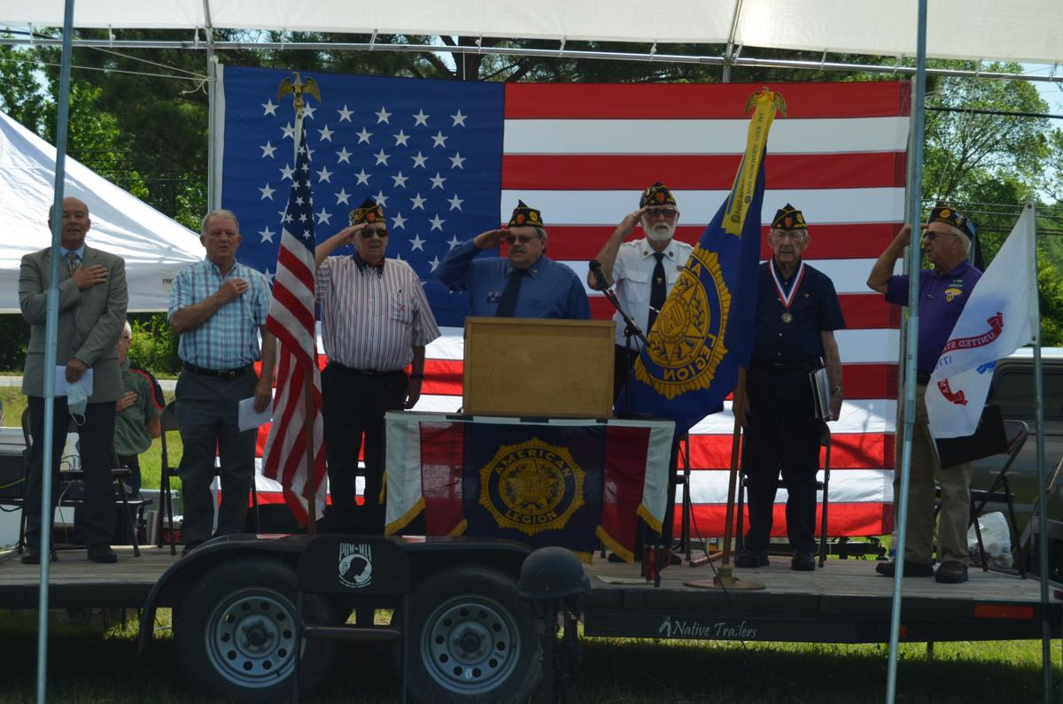 American Legion Post 25 honors fallen soldiers on Memorial Day
