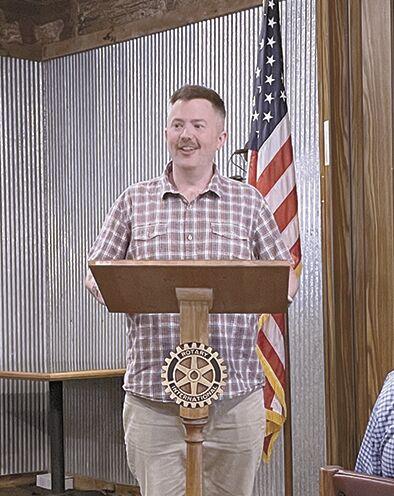 Speaking at Rotary...
