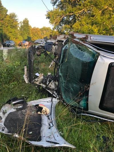 Man airlifted following Friday morning crash