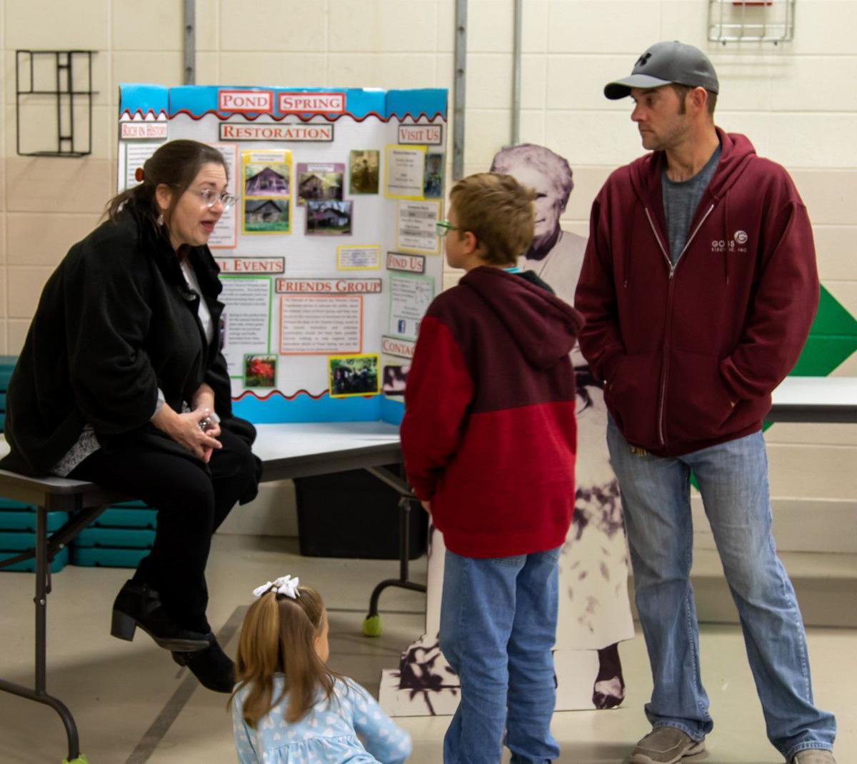 East Lawrence Elementary presents a Night at the Museum, a Bicentennial event