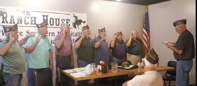 VFW Post 8362 swears in 2019-2020 elected officers