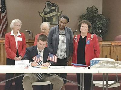 Superintendent signs 2019 Constitution Week proclamation