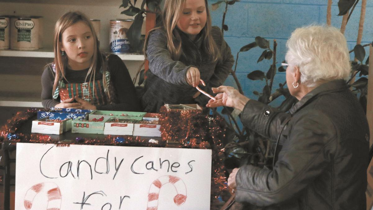 Moulton Elementary student raising money to help hungry children