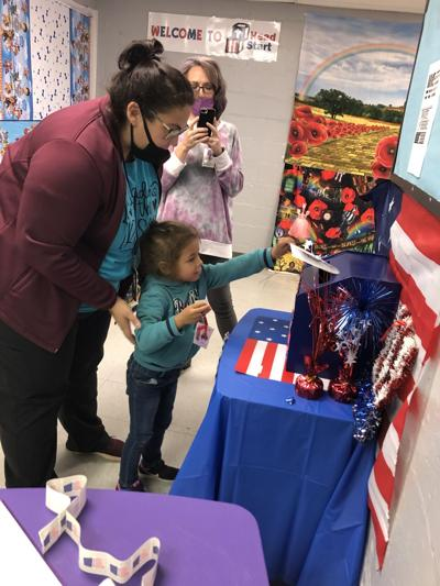 Moulton Head Start holds mock election for students