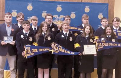 East Lawrence FFA attends state competition