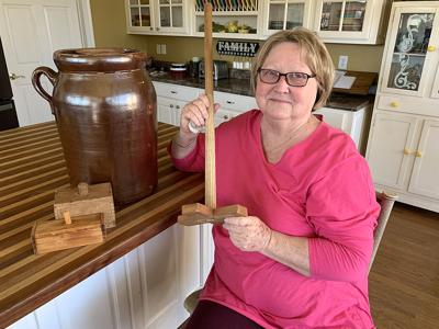 Homemade goodness takes time and effort;  local woman shares her secrets to making butter