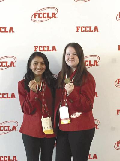 LC students awarded gold at National FCCLA Competition