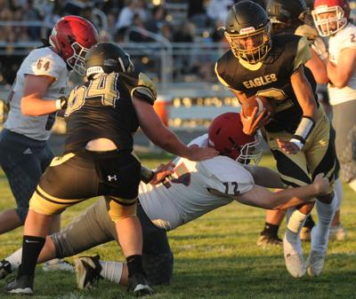 Hubbard shines as East Lawrence tops Lawrence County in spring game
