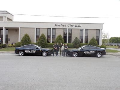 Moulton Police patrols show off new look