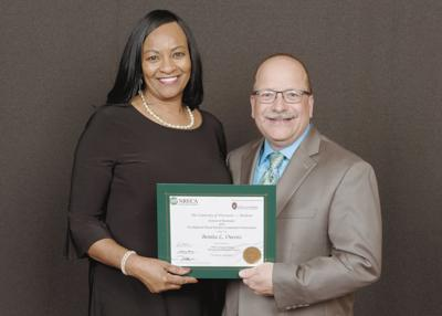 Joe Wheeler EMC's Benita Owens graduates Management Internship Program