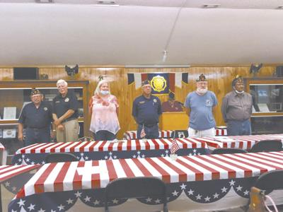American Legion Post 25 inducts officers
