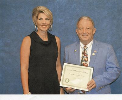 Mayor recognized by Alabama League of Municipalities