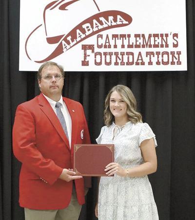Hatton grad awarded Alabama  Cattlemen's Foundation Scholarship