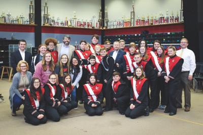 LCHS Band receives grant from state legislators