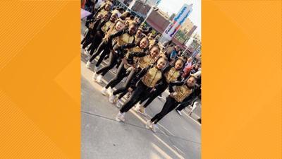Hazlewood dance team performs for hundreds