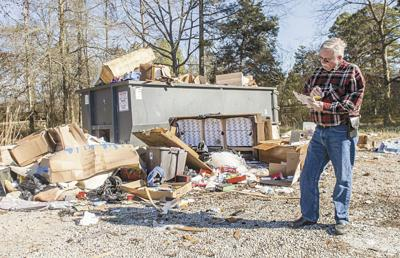 Overfilled dumpsters messy and costly in Lawrence